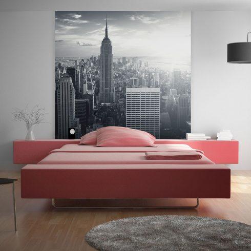Fotótapéta - Csodálatos kilátás a New York-i Manhattan napkeltekor  -  ajandekpont.hu