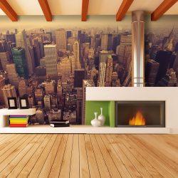 Fotótapéta - Bird Eye View of Manhattan, New York  -  ajandekpont.hu