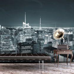 Fotótapéta - New York City éjszakai élet  -  ajandekpont.hu