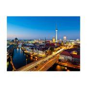 Fotótapéta - Berlin view from Fischerinsel (night)  -  ajandekpont.hu