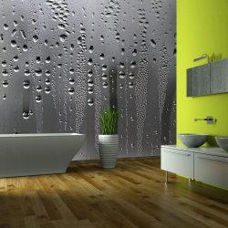 Fotótapéta - Glass and rain