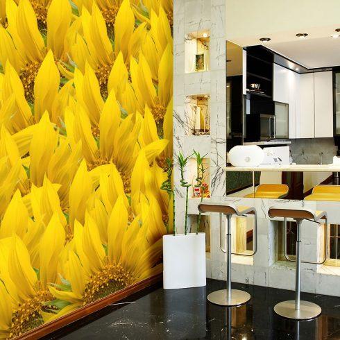Fotótapéta - sunflowers - background  -  ajandekpont.hu