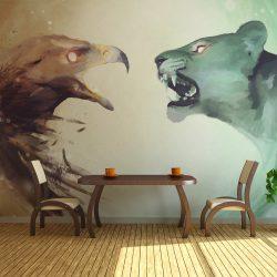Fotótapéta - Interspecies clash