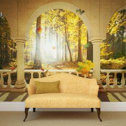 Fotótapéta - Dream about autumnal forest l