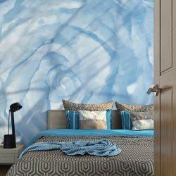 Fotótapéta - rose (blue)