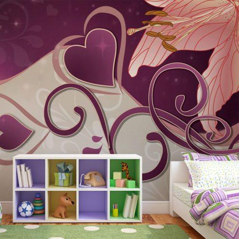 Fotótapéta - Lily in violets  -  ajandekpont.hu
