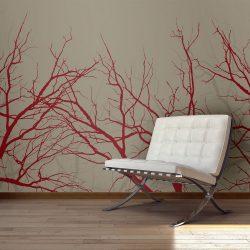 Fotótapéta - Red-hot branches l