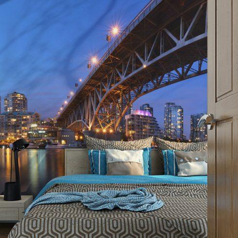 Fotótapéta - Granville Bridge - Vancouver (Canada) l  -  ajandekpont.hu