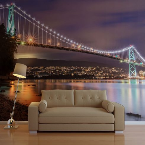 Fotótapéta - Lions Gate Bridge - Vancouver (Canada)  -  ajandekpont.hu