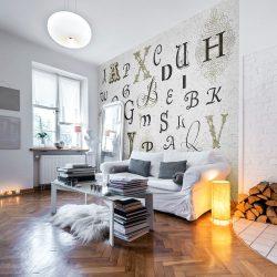 Fotótapéta - Royal alphabet
