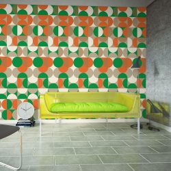 Fotótapéta - Avant-garde graphic pattern
