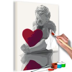 Kifestő - Angel (Red Heart)