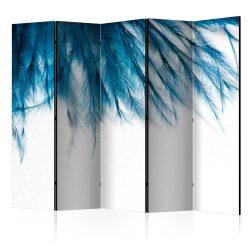 Paraván - Sapphire Feathers II [Room Dividers] 5 részes 225x172 cm
