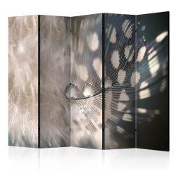 Paraván - Elegant Feather II [Room Dividers] 5 részes 225x172 cm