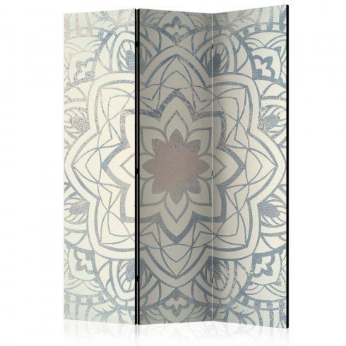 Paraván - Winter Mandala [Room Dividers] 3 részes  135x172 cm  -  ajandekpont.hu