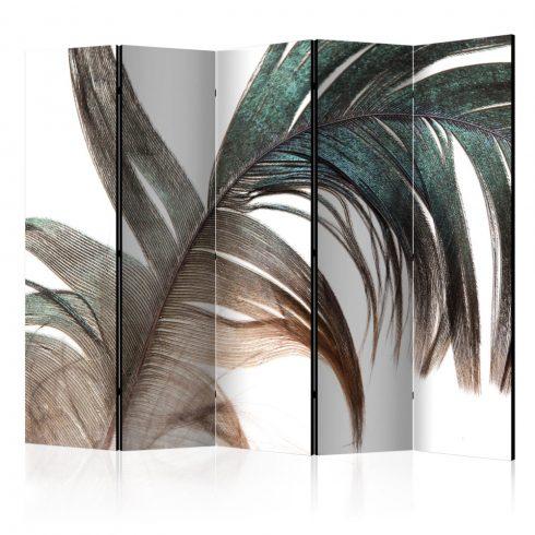 Paraván - Beautiful Feather II [Room Dividers] 5 részes 225x172 cm  -  ajandekpont.hu