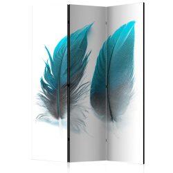 Paraván - Blue Feathers [Room Dividers] 3 részes  135x172 cm  -  ajandekpont.hu