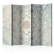 Paraván - Winter Mandala II [Room Dividers] 5 részes 225x172 cm