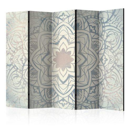 Paraván - Winter Mandala II [Room Dividers] 5 részes 225x172 cm  -  ajandekpont.hu