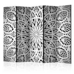 Paraván - White Mandala II [Room Dividers] 5 részes 225x172 cm