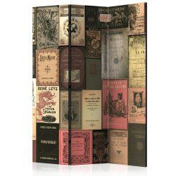 Paraván - Books of Paradise [Room Dividers] 3 részes  135x172 cm  -  ajandekpont.hu