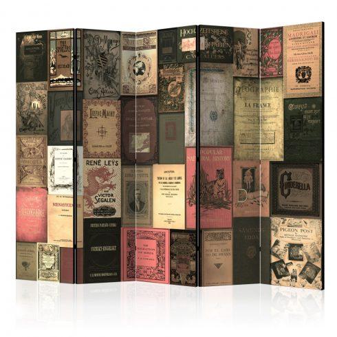 Paraván - Books of Paradise II [Room Dividers] 5 részes 225x172 cm  -  ajandekpont.hu
