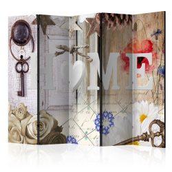 Paraván - Home: Enchanting Memories [Room Dividers] 5 részes 225x172 cm