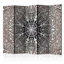 Paraván - Feathers (Pink) II [Room Dividers] 5 részes 225x172 cm