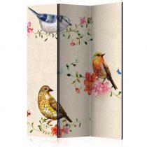 Paraván - Bird Song [Room Dividers]3 részes  135x172 cm