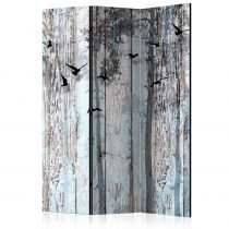 Paraván - Rustic Boards [Room Dividers]3 részes  135x172 cm