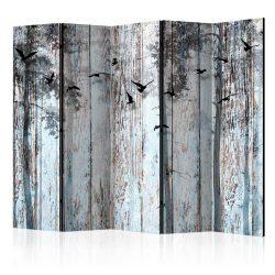 Paraván - Rustic Boards II [Room Dividers] 5 részes 225x172 cm
