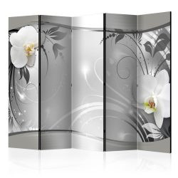 Paraván - Silver Abstract II [Room Dividers] 5 részes 225x172 cm