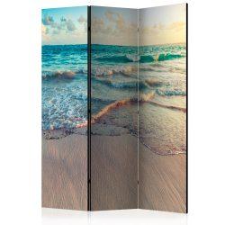 Paraván - Beach in Punta Cana [Room Dividers]3 részes  135x172 cm