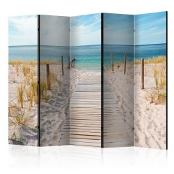 Paraván - Holiday at the Seaside II [Room Dividers] 5 részes 225x172 cm