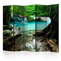 Paraván - Crystal Clear Water II [Room Dividers] 5 részes 225x172 cm