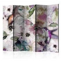 Paraván - Nature in Watercolor II [Room Dividers] 5 részes 225x172 cm