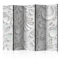 Paraván - Flowers in Crystals II [Room Dividers] 5 részes 225x172 cm