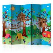 Paraván - Happy Children II [Room Dividers] 5 részes 225x172 cm