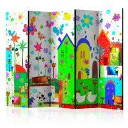 Paraván - Happy Farm II [Room Dividers] 5 részes 225x172 cm