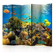 Paraván - Underwater Land II [Room Dividers] 5 részes 225x172 cm
