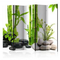 Paraván - Bamboos and Stones II [Room Dividers] 5 részes 225x172 cm