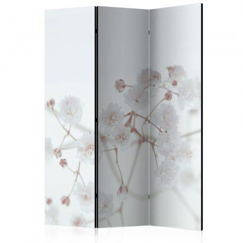 Paraván - White Flowers [Room Dividers]3 részes  135x172 cm