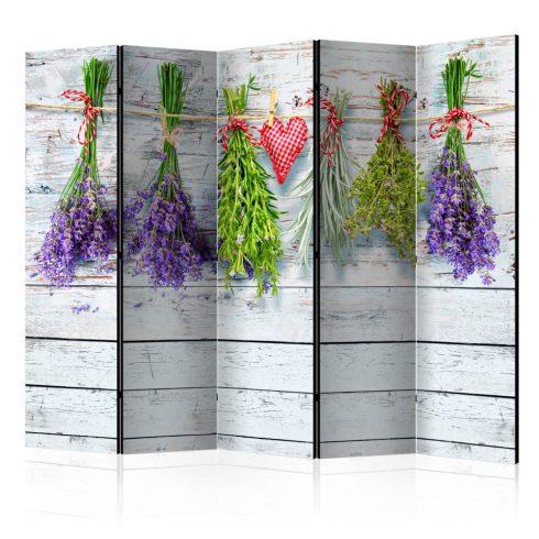 Paraván - Spring Inspirations II [Room Dividers] 5 részes 225x172 cm - ajandekpont.hu