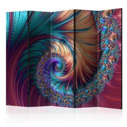 Paraván - Peacock Tail II [Room Dividers] 5 részes 225x172 cm