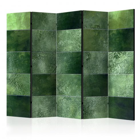 Paraván - Green Puzzle II [Room Dividers] 5 részes 225x172 cm  -  ajandekpont.hu