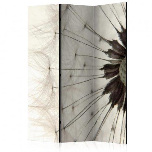 Paraván - White Dandelion [Room Dividers] 3 részes  135x172 cm  -  ajandekpont.hu