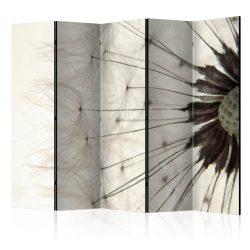 Paraván - White Dandelion II [Room Dividers] 5 részes 225x172 cm