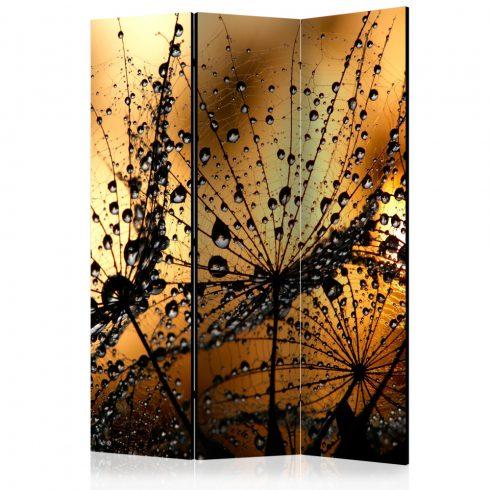 Paraván - Dandelions in the Rain [Room Dividers] 3 részes  135x172 cm  -  ajandekpont.hu