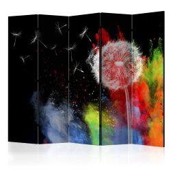 Paraván - Colourful Element II [Room Dividers] 5 részes 225x172 cm