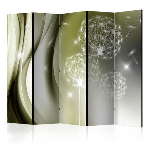 Paraván - Green Gentleness II [Room Dividers] 5 részes 225x172 cm  -  ajandekpont.hu